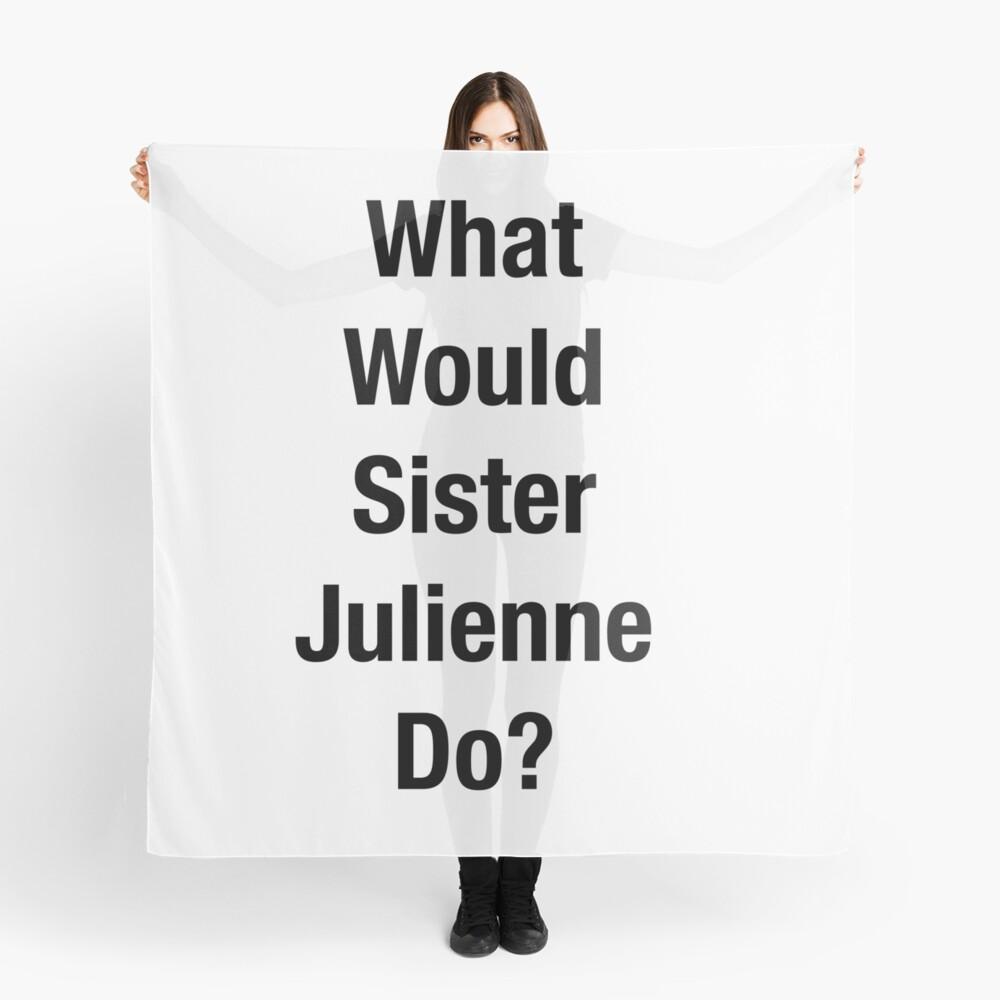¿Qué haría la Hermana Julienne? Pañuelo