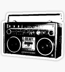 Muska's Boombox Sticker