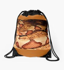 Copperhead for Monnie Drawstring Bag