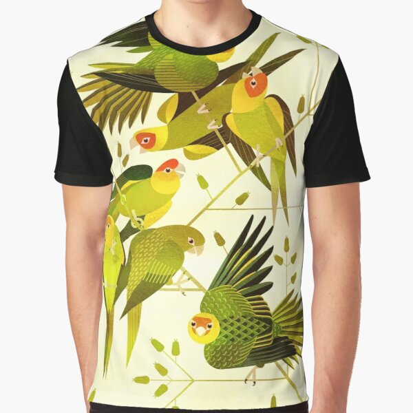 Carolina Parakeet Graphic T-Shirt