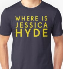 'Where is Jessica Hyde' from Channel 4's Utopia  T-Shirt