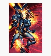 Justice rains from above! Photographic Print