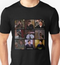 Ross Geller Quotes Collage #2 T-Shirt