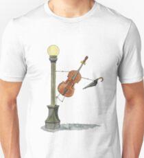 Bassy in the Rain Unisex T-Shirt