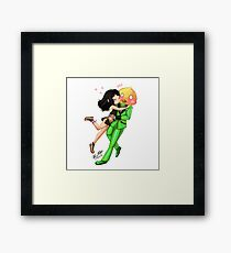 Yukiko and Nights Framed Print