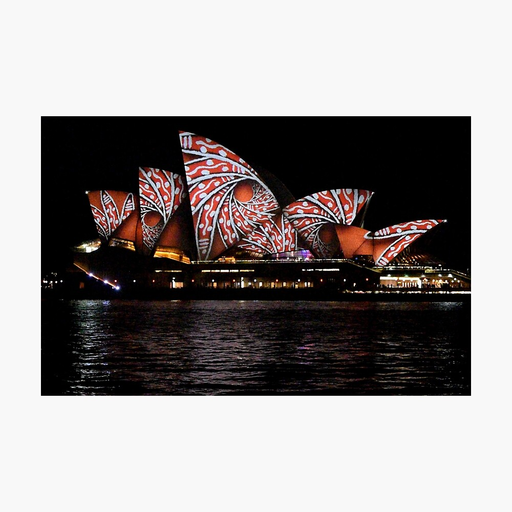 Vivid 2016 Opera House 22 Photographic Print