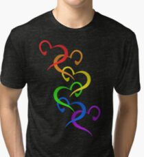 Hearts of PRIDE Tri-blend T-Shirt