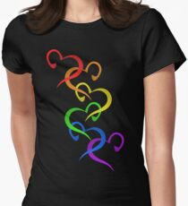 Hearts of PRIDE Women's Fitted T-Shirt
