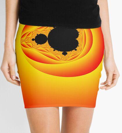 Solar Mandelbrot Mini Skirt