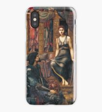Edward Burne-Jones  - King Cophetua And The Beggar Maid 1884. Burne-Jones  - people portrait. iPhone Case/Skin