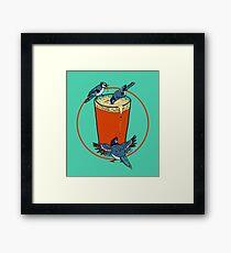 Brew Jays Framed Print