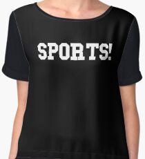 Sports - version 2 - white Chiffon Top