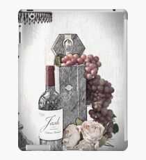 Sketching a Wine Tasting Evening iPad Case/Skin