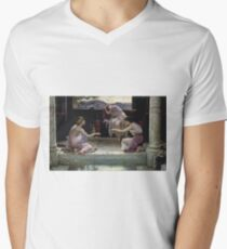 Edward Poynter - When The World Was Young 1891. Poynter - woman portrait. T-Shirt