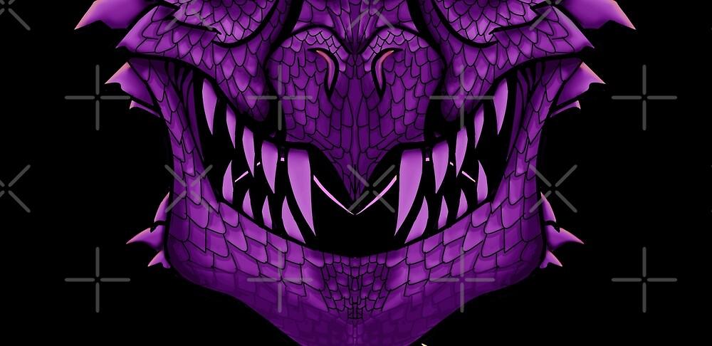 Pink Dragon Mask V2 by GothickangelCa
