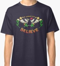 I Want To Believe Woodpecker Classic T-Shirt