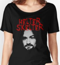 Charles Manson - Helter Skelter Women's Relaxed Fit T-Shirt