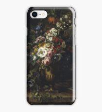 Francesc Lacoma Fontanet  - Gerro Amb Flors. Fragonard - still life with flowers. iPhone Case/Skin