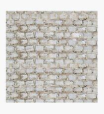 Brick blocks Photographic Print
