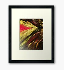 Abstract Fury Framed Print