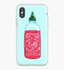 Sriracha Blues iPhone Case