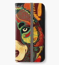 The Wolf iPhone Wallet/Case/Skin