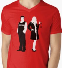 Castle& Beckett Men's V-Neck T-Shirt