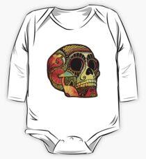 Grunge Skull Baby Body Langarm