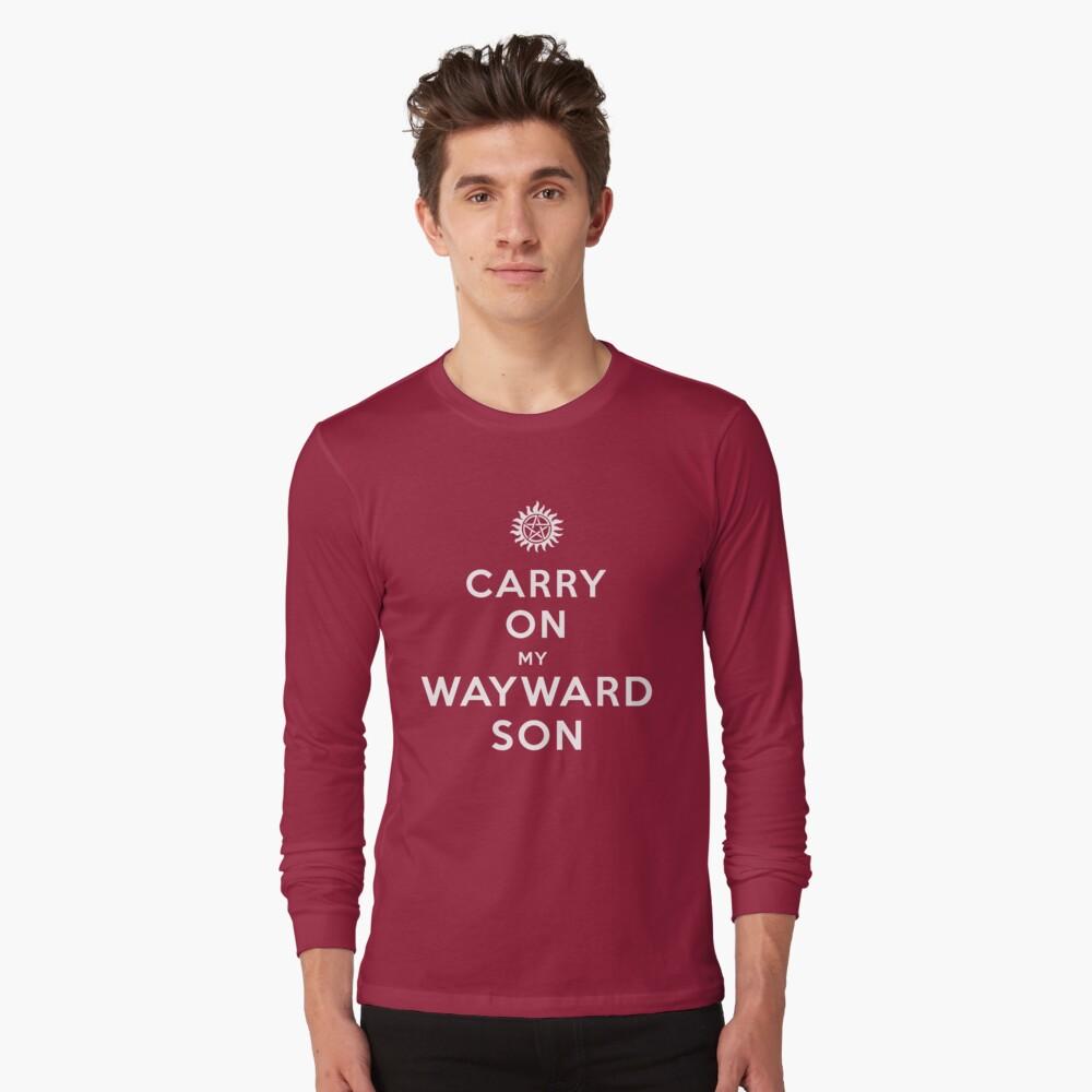 Lleva mi legado, hijo) Camiseta de manga larga