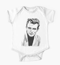 Classic actor Graphite pencil portrait One Piece - Short Sleeve