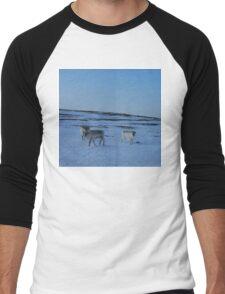 Rangifers Men's Baseball ¾ T-Shirt