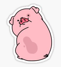 Gravity Falls Waddles Pig Sticker