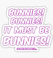 It must be bunnies Sticker