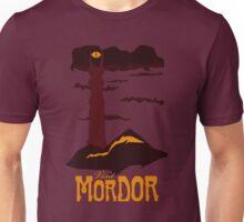 Mordor vintage travel poster Unisex T-Shirt