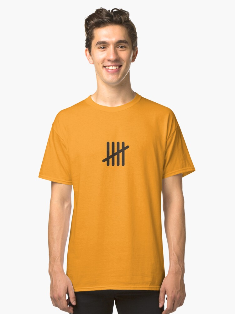 Five Classic T-Shirt Front