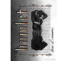 Hamlet Shakespeare David Tennant Soliloquy Must I Remember Photographic Print