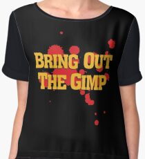Bring Out The Gimp Chiffon Top