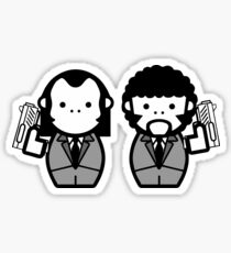 Vincent Vega and Jules Winnfield Sticker