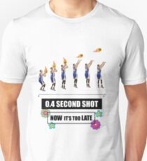 MR. 0.4 SECONDS SHOT  Unisex T-Shirt