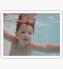 Water boy Sticker