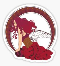 Fairy Nouveau Sticker