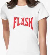 Flash Gordon Womens Fitted T-Shirt