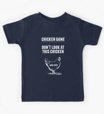 Chicken Game T-Shirt | Funny Chicken Joke Kids T-Shirt
