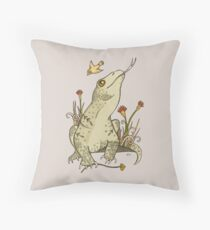 King Komodo Throw Pillow