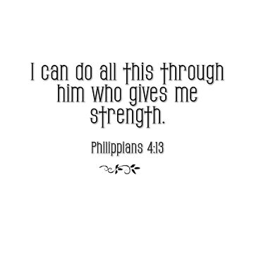 Philippians 4:13 bible verse by VampicaX