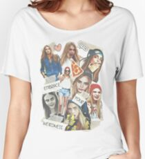 Cara Delevingne Women's Relaxed Fit T-Shirt