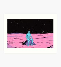 The Watchmen - Dr Manhattan Art Print