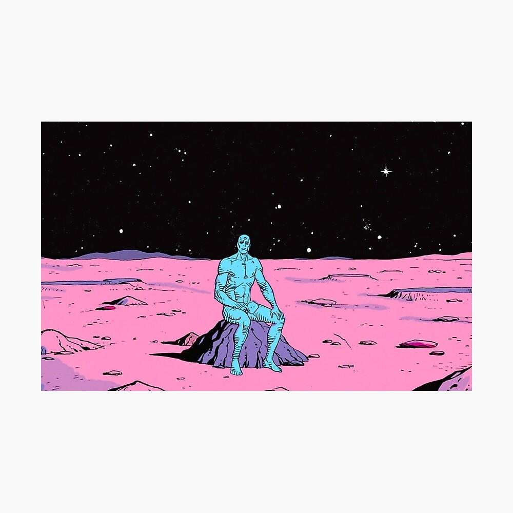 The Watchmen - Dr. Manhattan Lámina fotográfica