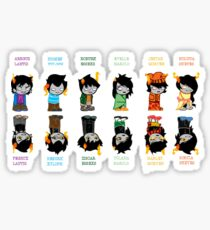 Homestuck Trolls Sticker