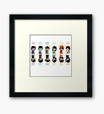 Homestuck Trolls Framed Print